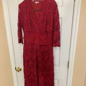 Elegant long Kyonna dress from Lane Bryant